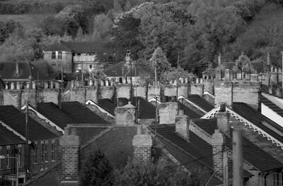 """Chimney row"", Barnetby."