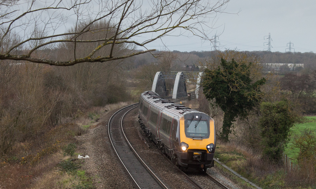 Crosscountry Voyager in Appleford-on-Thames.