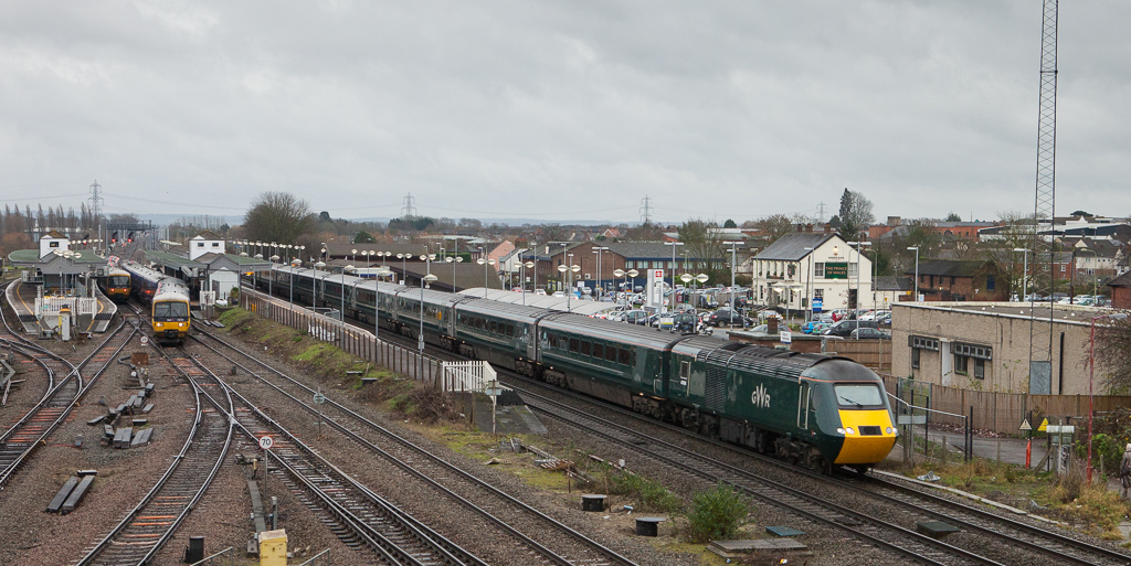 Great Western Railway HST in Didcot.