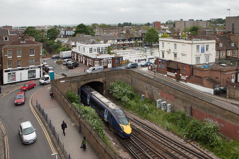 Javelin in Gravesend Central.