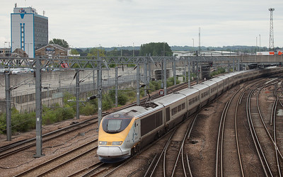 Eurostar in Ashford, Kent.
