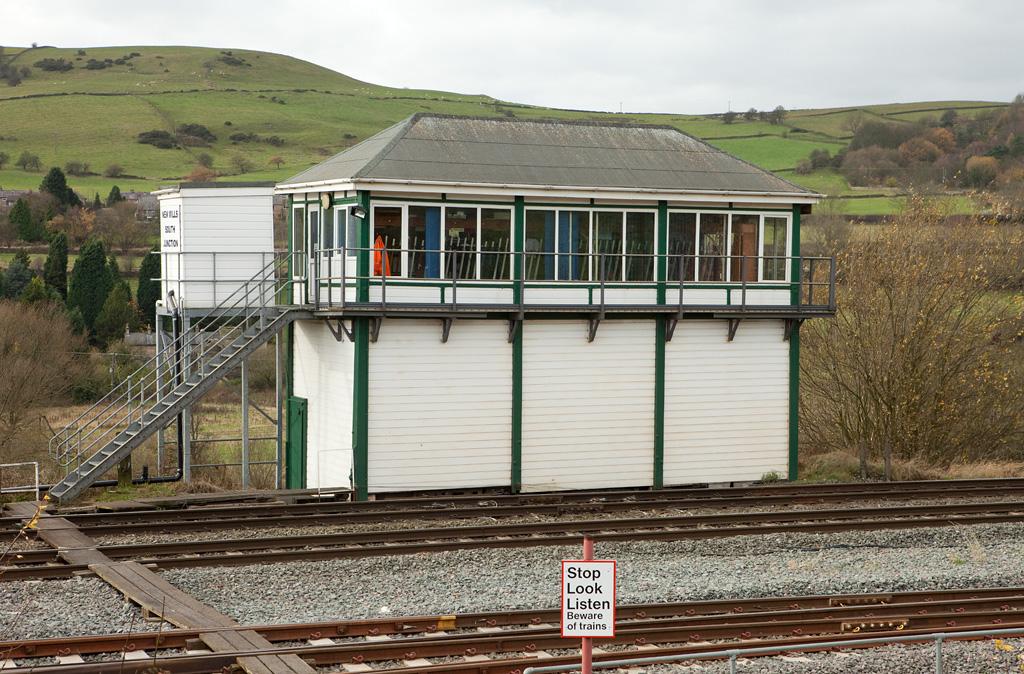New Mills South Jct. signal box.