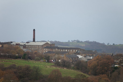 Old industrial architecture in New Mills.