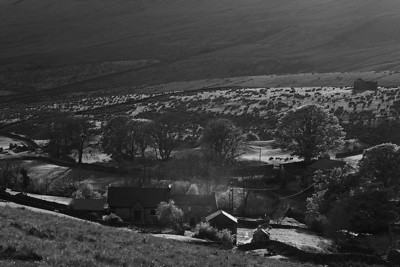 Farm in Ribblehead.