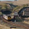 156 425 bound for Leeds in Blea Moor.