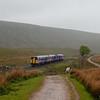 158 791 between Ribblehead and Blea Moor bound for Carlisle.