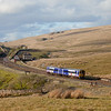 158 902 in Blea Moor headed for Carlisle.