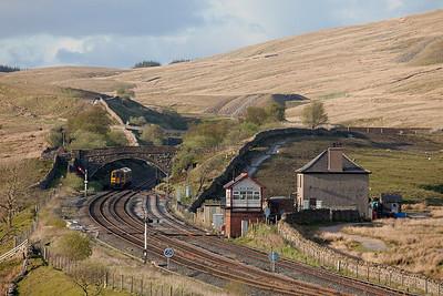 158 902 in Blea Moor bound for Carlisle.