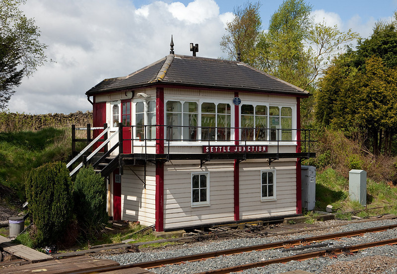 Settle Junction signal box