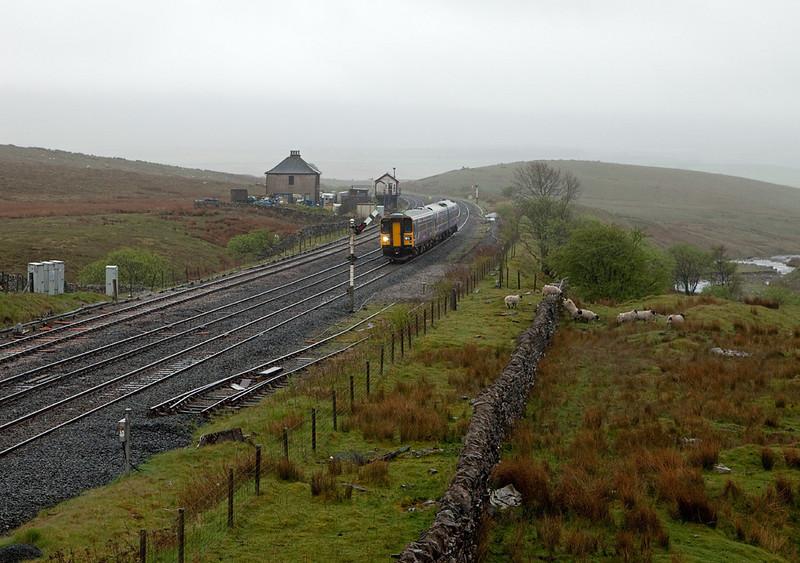 153 324 in Blea Moor bound for Carlisle.