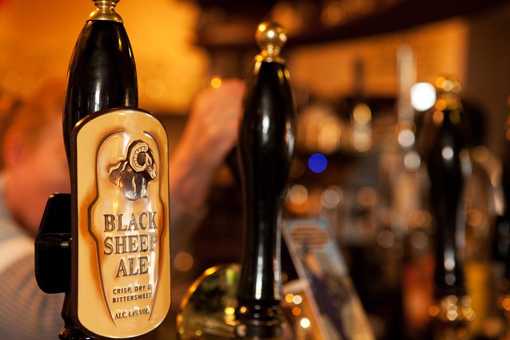 Black Sheep Ale, Ribblehead Station Inn.