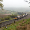 EWS 66082 with the 6E85 05:20 Hunterston - Drax Powerstation in Garsdale.