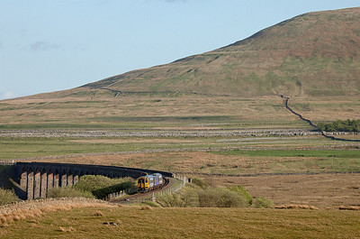 158 902 in Ribblehead bound for Carlisle.