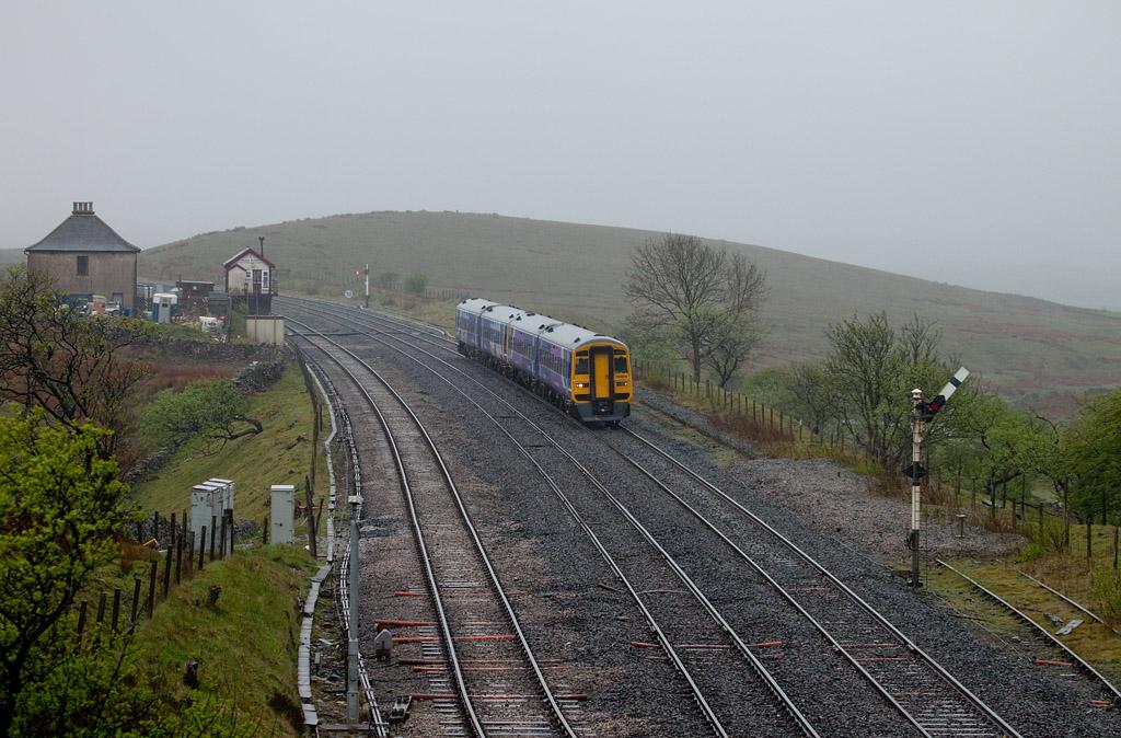 158 816 in Blea Moor bound for Carlisle.