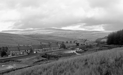 Overlooking Garsdale Head.