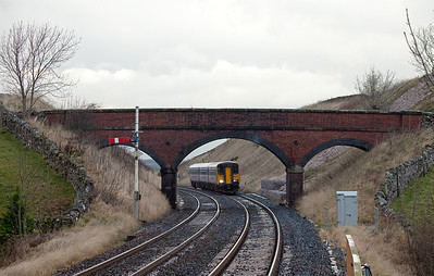 153 332 approaching Kirkby Stephen.