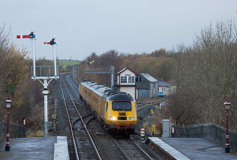 HST measurement train in Appleby North.