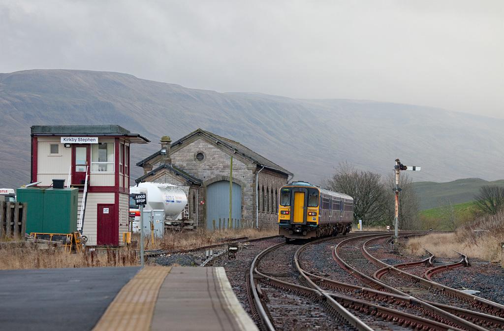 153 331 leaving Kirkby Stephen.