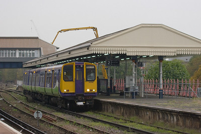 London Overground 313116 in Clapham Junction.
