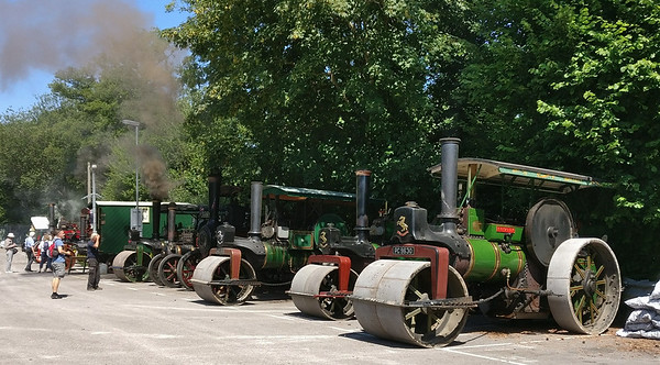 Steam rollers, Eridge