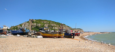 Hastings working beach