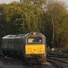 Wrexham & Shropshire class 67 southbound in Hatton station.