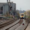 Chiltern Trains 168 214 in Leamington Spa.