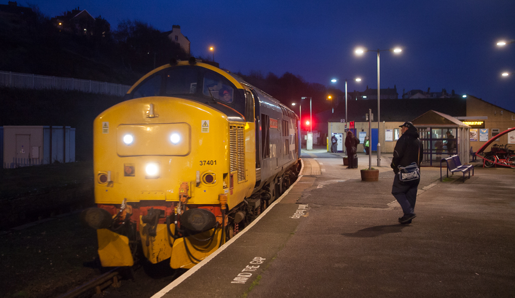 """37401 """"Mary Queen of Scots"""" Barrow-in-Furness - Carlisle in Whitehaven."""
