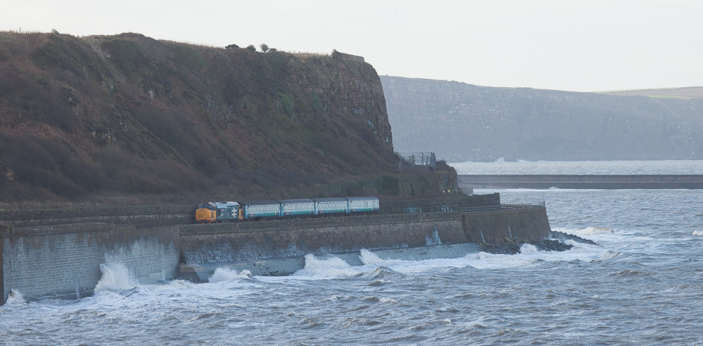 """37401 """"Mary Queen of Scots"""" Carlisle - Barrow-in-Furness in Parton."""