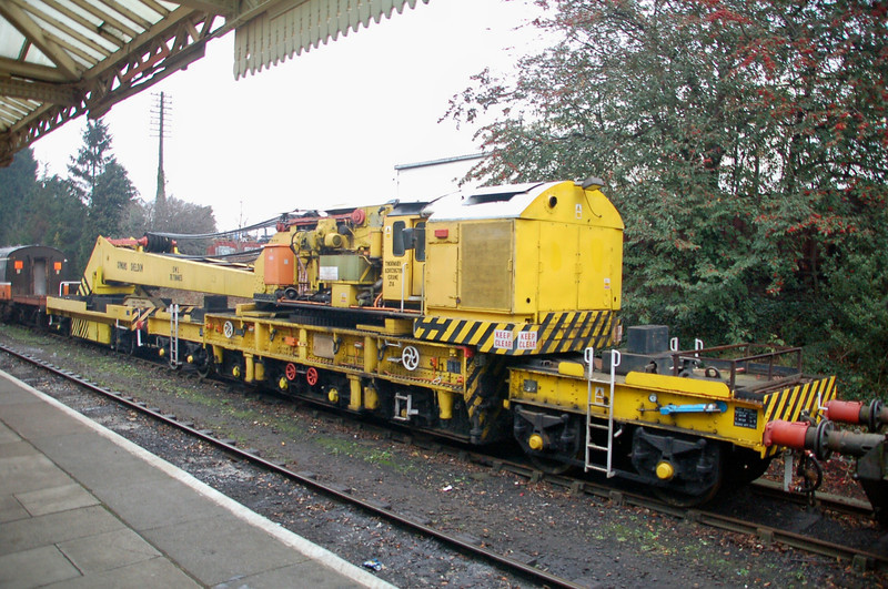 Cowans-Sheldon Crane ADRC 96709 - Loughborough, GC Rly - 29 January 2012