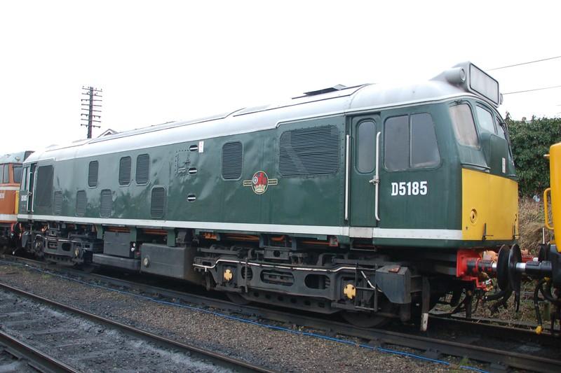 D5185 - Loughborough, GC Rly - 26 January 2018