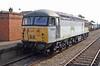 56040 undergoing test running at Dereham on the Mid Norfolk railway 20/09/2008.
