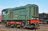 """08604 """"Phantom"""" the resident gronk at the Didcot railway centre 01/02/2014."""
