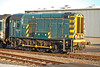 08410 gleams in the evening sun at Long Rock depot Penzance 09 August 2006.