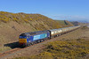 A Pathfinder charter covering the Cumbrian Coast freight lines passing Nethertown on 21st March 2016.T & T body-snatchers