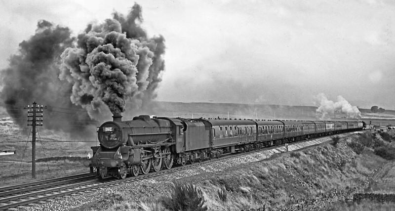 45212 Shap Wells Blackpool-Glasgow September 1966