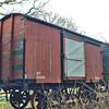30449 Non Vent Van Plank 'Box Van' - Gwili Railway