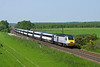 43290 heads South on the East Coast Main Line at Gateforth - 14:17 Monday 28th May 2012.