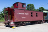 Canadian Pacific caboose 437123 at Halton County Radial Railway.
