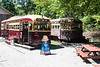Streetcar PCC 4618 used as East End Cafe at Halton County Radial Railway.