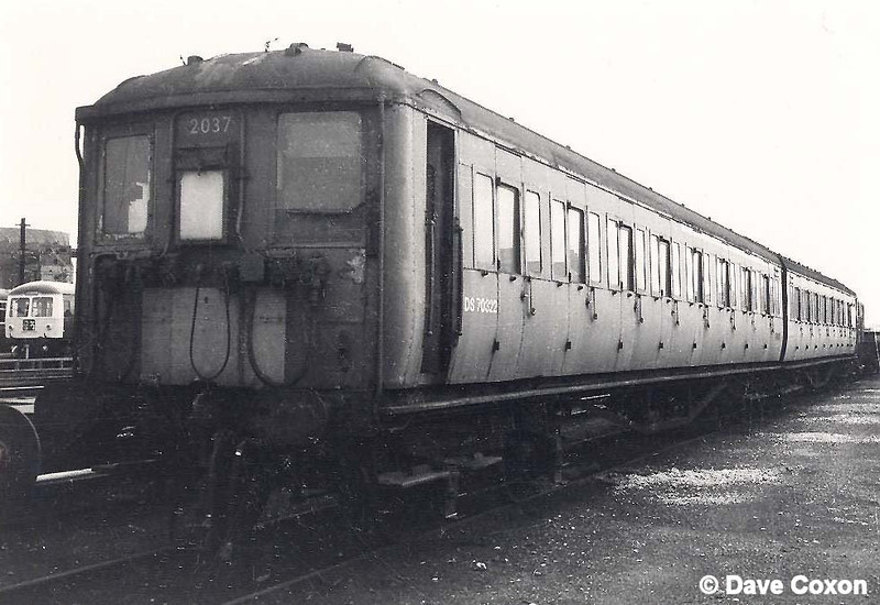 2-BIL set 2037 in Derby RTC Yard in May 1972