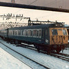 A class 304 unit enters Manchester Piccadilly on 18th December 1981