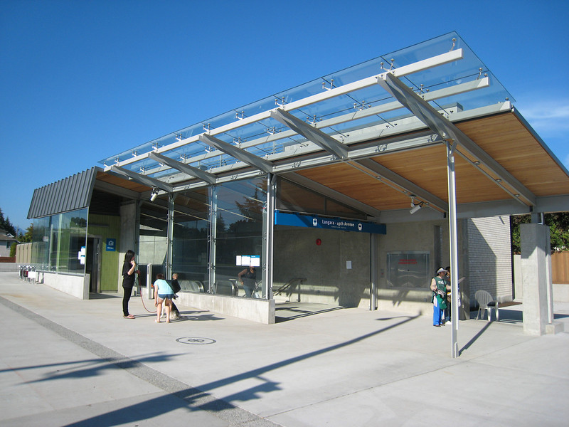 The Langara - 49th Station is located on the northeast corner of Cambie and 49th.