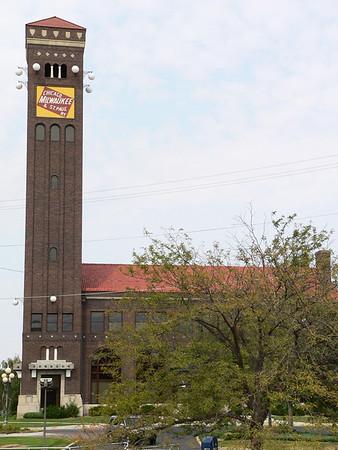 Milwaukee Road depot in Great Falls, MT.