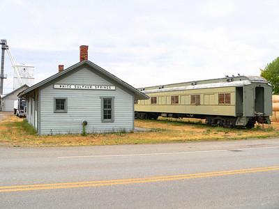 Milwaukee Road depot at White Sulphur Springs, MT.