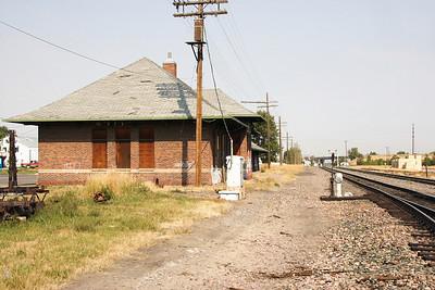 NP passenger depot, Bozeman, MT.