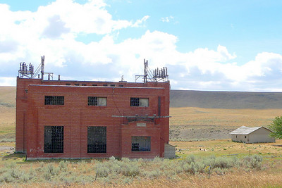 Milwaukee Road electric sub-station #2 at Loweth, MT.