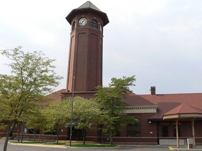 Great Northern passenger depot at Great Falls, MT.