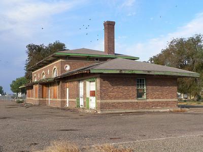 NP depot at Miles City, MT.