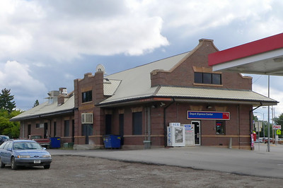 GN depot at Lewistown, MT.